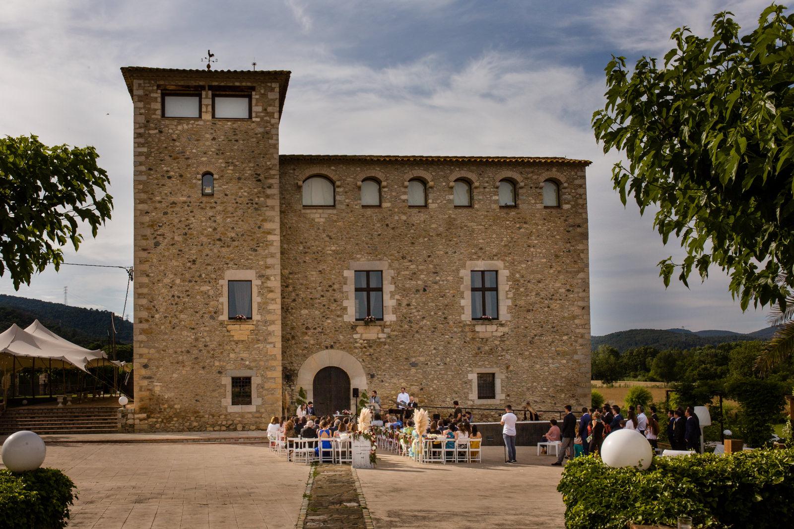 Boda en el Castell de Sant Gregori Girona